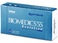 Biomedics 55 Evolution (6 lenses)