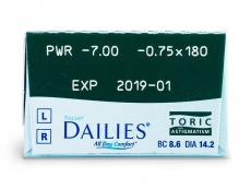 Focus Dailies Toric (30lenses)
