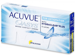 Acuvue Oasys for Astigmatism (6lenses)