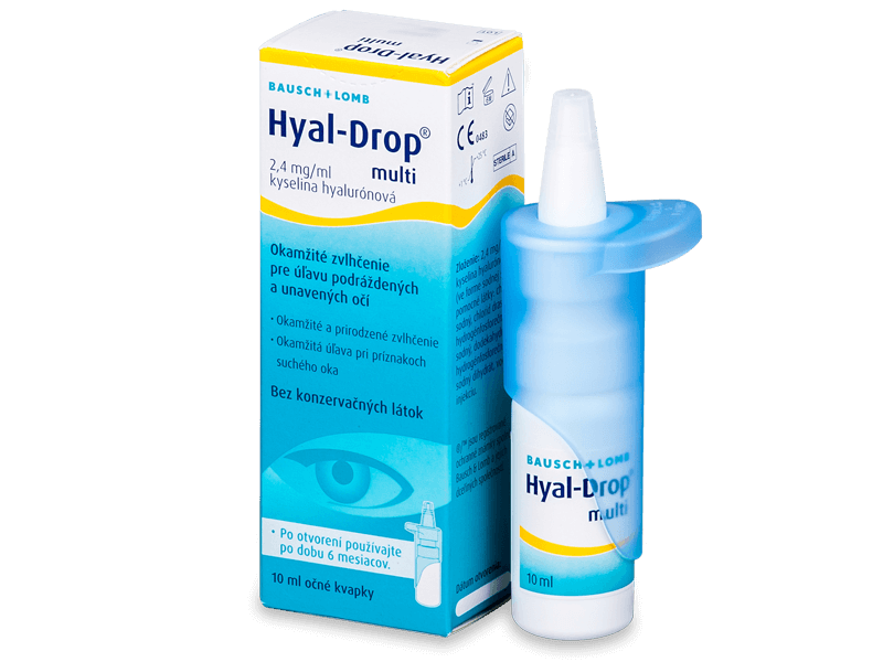 Hyal-Drop Multi Eye Drops 10ml