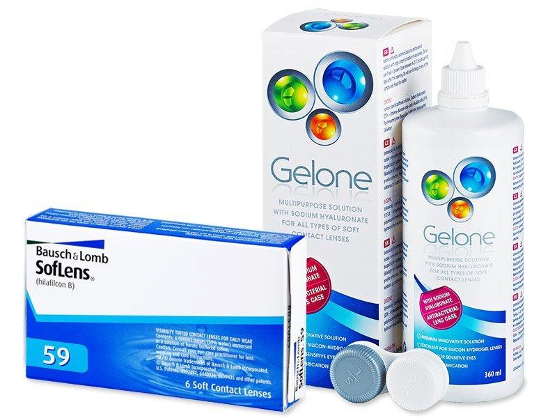 SofLens 59 (6lenses) +GeloneSolution 360ml