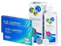 Alensa.com.mt - Contact lenses - Air Optix Aqua (2x3 lenses)