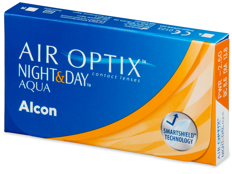 Air Optix Night and Day Aqua (3 lenses)