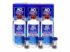 AO SEPT PLUS HydraGlyde Solution 3 x 360 ml